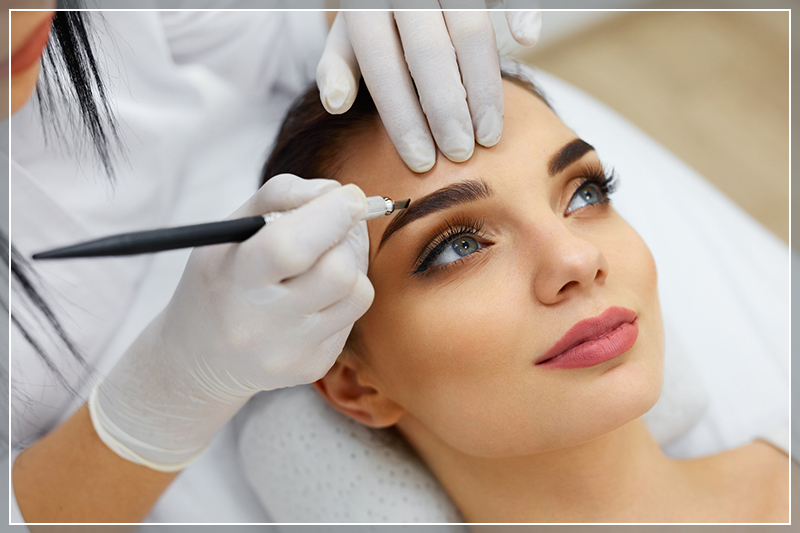 Brows Augenbrauen Microblading in Berlin
